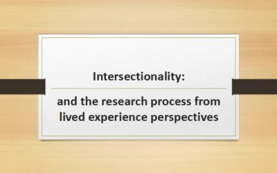 SRN Discussion and Support Group – Intersectionality
